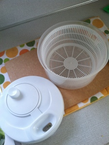 I love my salad spinner. It keeps me happy.